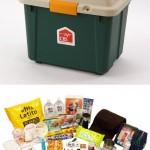 オリジナル備蓄箱デラックス 二人暮らし向けセット(53アイテム)