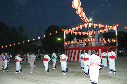 学区盆踊り大会・納涼夏祭り