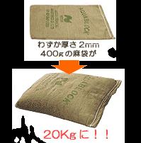 吸水型土嚢 アクアブロック(20枚)
