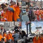 姫行列「はち丸100人衆」