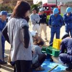 平針学区 自主防災会の訓練