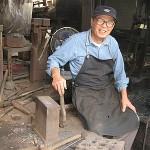 匠(1)鍛冶職人 鎚を打って五十八年