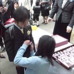 松本市小中学校で入学式