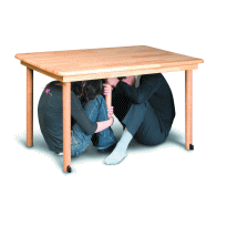 テーブル型シェルター