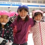 平北子ども会 スケート体験教室