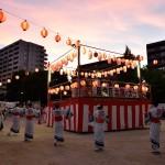 原学区盆踊り大会・御前場自治会夏祭り