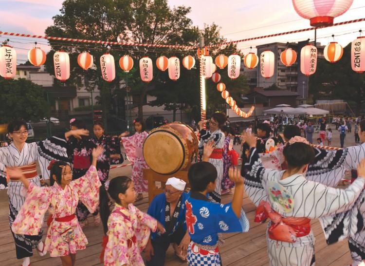 原学区 盆踊り大会