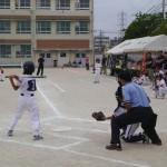【原学区子ども会】 ソフトボール大会