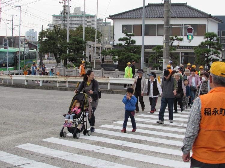 稲永町内会 歩け歩け大会