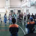 野跡学区 避難所運営訓練