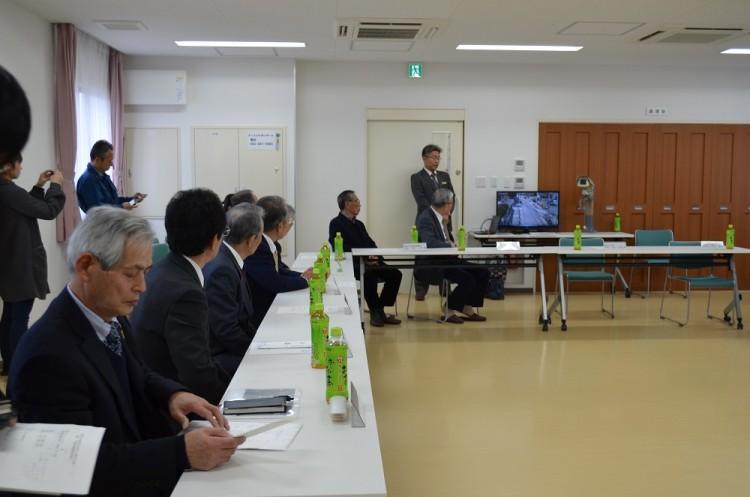 稲永学区・東築地学区防犯カメラ贈呈式
