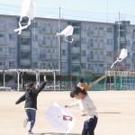 【平北子ども会】凧作り、凧揚げ