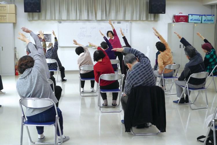 原学区健康づくり教室2