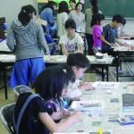 【平針北学区】ひらきた子ども会 フォトフレーム作りと新入生歓迎会