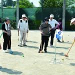 【原学区・平針北学区】グラウンドゴルフ大会
