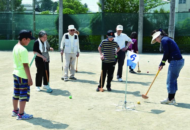 【原学区】グラウンドゴルフ大会