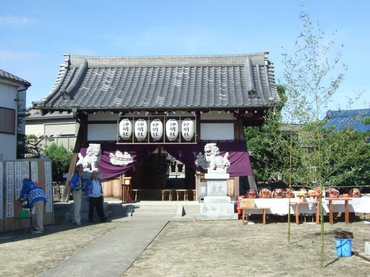 稲永神明社秋祭り 055