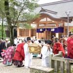 針名神社 例大祭 町内神輿奉納