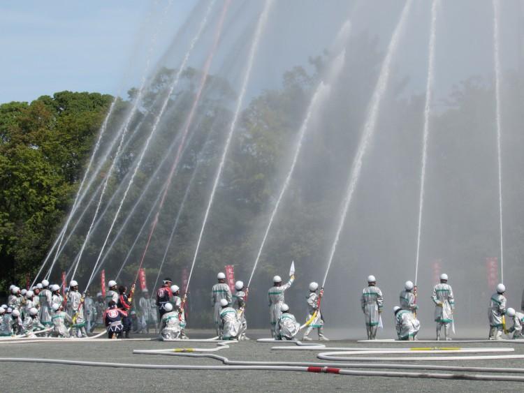 平成29年 港区消防団連合観閲式