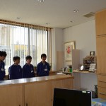 2017年 宝神中学校職場体験Teamℬ