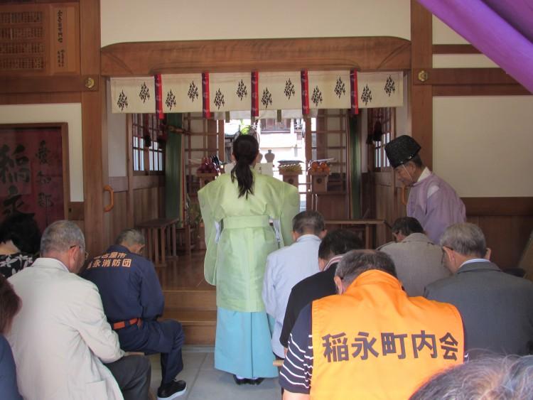 稲永神明社 春祭り・龍神祭