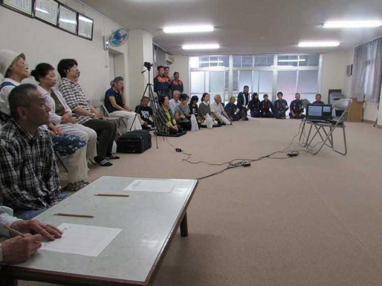 東稲永荘A・B自治会防災訓練
