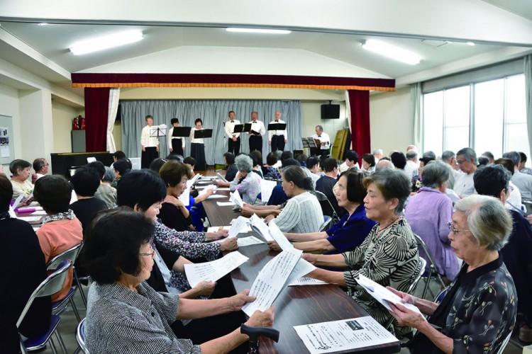 【原学区】 婦人会「敬老の日の集い」