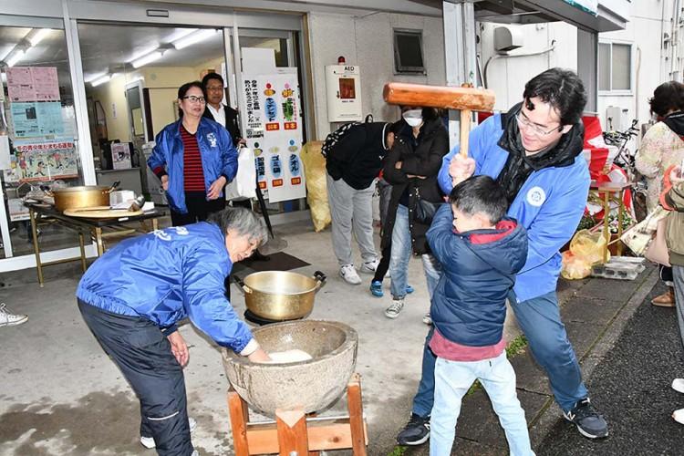 【原駅タウン】2018歳末大売り出し大抽選会&餅つき大会