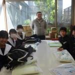 宝神中学校 職場訪問学習
